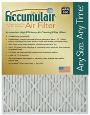 12x12x1 Accumulair Gold Air Filter/Furnace Filter (MERV 8) (4 Pack)
