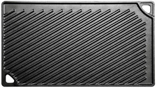 NEW Lodge LDP3 Pre-Seasoned Cast Iron Reversible Grill/Griddle - Freeshipping