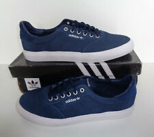 Adidas New Mens Skateboard 3mc Trainers Navy Lace Shoes RRP £65.00 UK Size 7