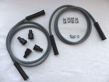 Dynatek Spark Plug Wire Kit DW800 8mm Grey Silicone Suppression  Dyna DW 800 New
