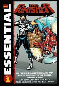 MARVEL ESSENTIAL PUNISHER #1 2004 TPB SPIDER-MAN CAPTAIN AMERICA