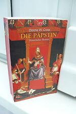BUCH DIE PÄPSTIN DONNA W. CROSS HISTORISCHER ROMAN TASCHENBUCH HISTORISCH BOOK !