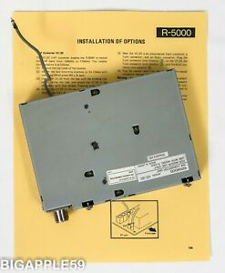 Kenwood Radio Receiver VC-20 VHF Converter for the R-5000 Shortwave