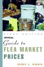 Official Guide to Flea Market Prices, 1st Edition-ExLibrary