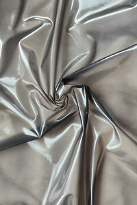 Meterware super soft PVC  schwarz-transparent 0,16mm Folie für PVC Windelhosen