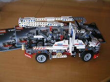 Lego 8071 Service Truck Laster A&P Kran neuwertig Original Anleitung 2 Modelle