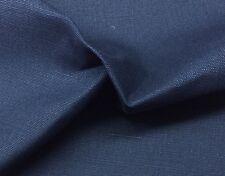 "BALLARD DESIGNS SUZANNE KASLER LINEN INDIGO BLUE 13OZ FABRIC BY THE YARD 56""W"