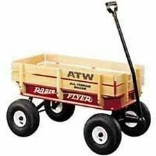 NEW IN BOX RADIO FLYER #32 ATW ALL-TERRAIN GOOD TIRES STEEL & WOOD SALE!!
