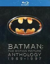 Batman: The Motion Picture Anthology 1989-1997 (Blu-ray, 4-Disc box) RegionFREE