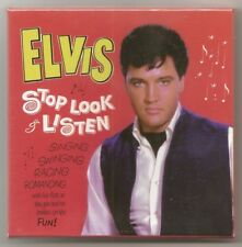 "ELVIS PRESLEY 3 CD ""STOP, LOOK & LISTEN"" 2016 SPINOUT SESSIONS MONO MASTERS 1966"