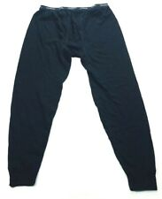 Coldpruf Mens Basic Thermal Pants Size Large Black NEW FLAW