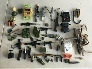 GI Joe Vintage Lot of  Weapons for 12 inch figures  (AA) gun rifle misc