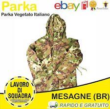Parka Giacca Giubbino Tattica Vegetata Tactical Jacket Vegetato Militaria Softai