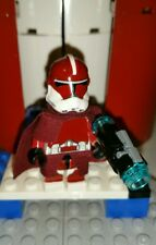 Lego Star Wars Galatic Marine ARC Commander Zero Clone Wars With Pistol