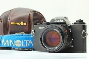 [Fast Neu Minolta Xd Schwarz SLR Film Kamera Md 50mm f1.4 Aus Japan #1111