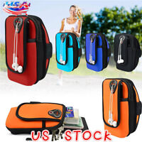 Exercise Workout Sports Gym Running Phone Armband Arm Bag Holder Pouch Case Bag
