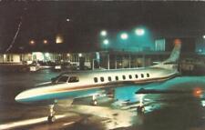 METRO II - Fairchild Swearingen Metro II Advertising Postcard Plane Jet Postcard