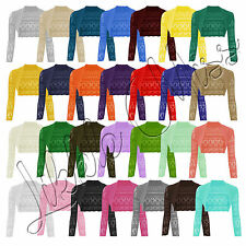Unbranded Women's Cropped Boleros Shrugs Jumpers & Cardigans