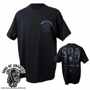 AUTHENTIC SONS OF ANARCHY RIDING REAPER SOA SAMCRO T TEE SHIRT S M L XL 2XL 3XL