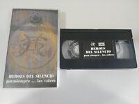 HEROES DEL SILENCIO para Sempre los Videos 1996 - VHS Nastro Castellano