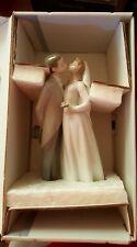 Lladro Nib (other) A Kiss To Remember Wedding Figurine Bride Groom Porcelain
