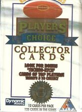 1994 Dynamic AFLPA Players Choice Complete 125 Common Card Set