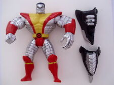 1996 COLOSSUS FIGURE WITH ARMOR TOY BIZ CLASSIC MARVEL X MEN FIG