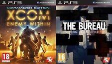 XCOM Enemy Within Commander Edition & The Bureau: XCOM Declassified  new&sealed