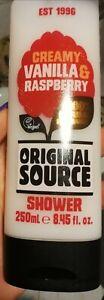 ★☆ DUSCHGEL ★☆ von ORIGINAL SOURCE ★☆ Vanilla & Raspberry ★☆ Vegan ★☆ 250 ml ★☆