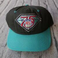 Vintage 90s NFL 75th Anniversary Snapback Hat Cap