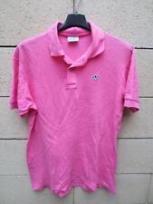 VINTAGE Polo ADIDAS rose shirt 80's VENTEX coton jersey Pink L D 50 F 4 Trefoil