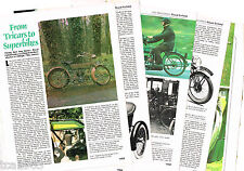 vintage Royal Enfield Motorcycle Article / Photo's / Pictures