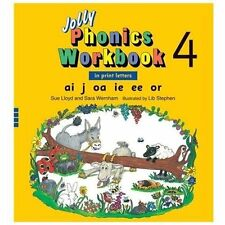 Jolly Phonics Workbook 4, Lloyd, Sue,1844141012, Book, Good