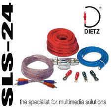 Dietz 20150 Endstufen Verstärker Anschluß Set Kabelsatz auf 50mm2 150A Sicherung