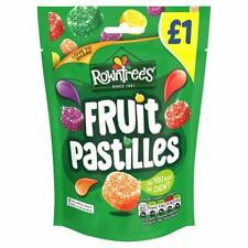 Rowntrees Fruit Pastilles Bag (120g) X 20 FREE TRACKED POSTAGE ONLY £19.99