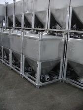 IBC Edelstahl - Schüttgut - Container 1.600 Ltr - stapelbar - Fabrikat UCON