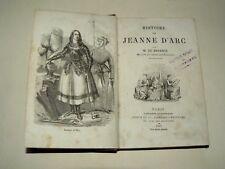 Livre Histoire de Jeanne D'Arc Par M BARANTE 1867 Book Moyen Age
