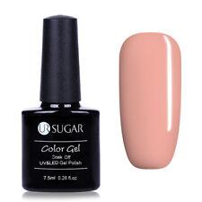 Gellack Nagel UV Gel Lack Nail Soak Off Lamp Gellish UR SUGAR Gelb 7.5ml