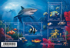 FRANCE 2012...Miniature Sheet n° F4646 MNH...TROPICAL FISH