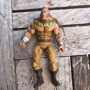 """Sabretooth Age Of Apocalypse Marvel Legends Giant-Man BAF 6"""" AOA X-Men LOOSE"""