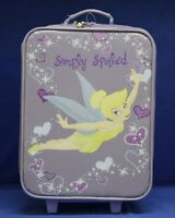 Tinker Bell Rolling Luggage Simply Spoiled Purple Disney Park New with Tag