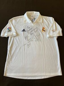Figo jersey  Real Madrid match un worn signed
