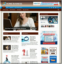 Home Business Wordpress Website Blog with Builtin Amazon Store