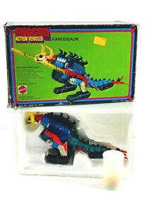 RARE 1978 Mattel vtg Shogun Warriors Kargosaur w/ Box