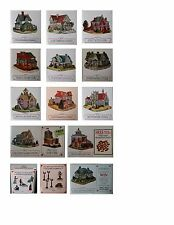 LIBERTY FALLS ~ The Americana Collection~ 12 Miniature Buildings of the Old West