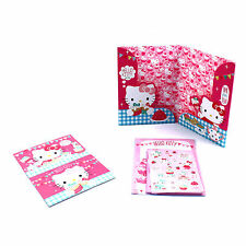 Hello Kitty Letter Writing Set A5 Paper Envelopes Postcards Girls Sticker Kit