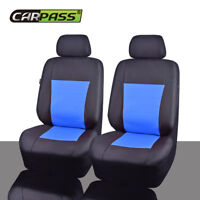 Universal Car Seat Covers Oxford Waterproof Black Blue For Sedan Truck SUV Van