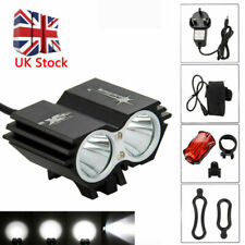 Rechargeable Cycling Front Light MTB Bicycle Bike LED Head&rear Head Lamp 5000lm