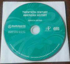 Switched-On Schoolhouse Twentieth Century American History Disc - 2010