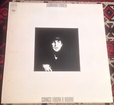LEONARD COHEN songs from a room 1970s US COLUMBIA CS 9767 STEREO VINYL LP.